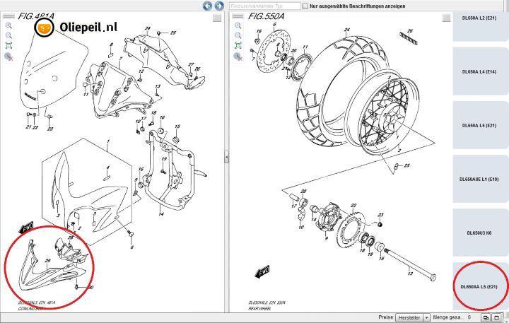 2015 Suzuki V-Strom 650 Adventure Has Wire-Spoked Wheels and a Beak ...