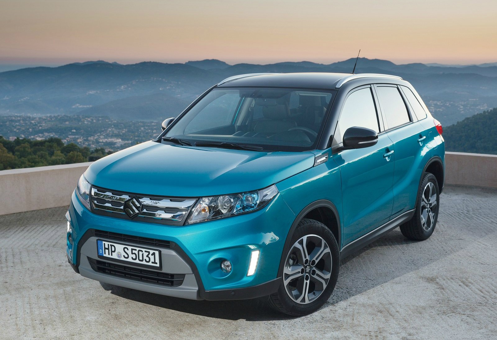 2015 suzuki vitara hailed as the cleanest non hybrid 4x4 in the uk autoevolution. Black Bedroom Furniture Sets. Home Design Ideas
