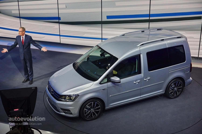 2015 Volkswagen Caddy: the Working Class Hero Arrives in Geneva - autoevolution