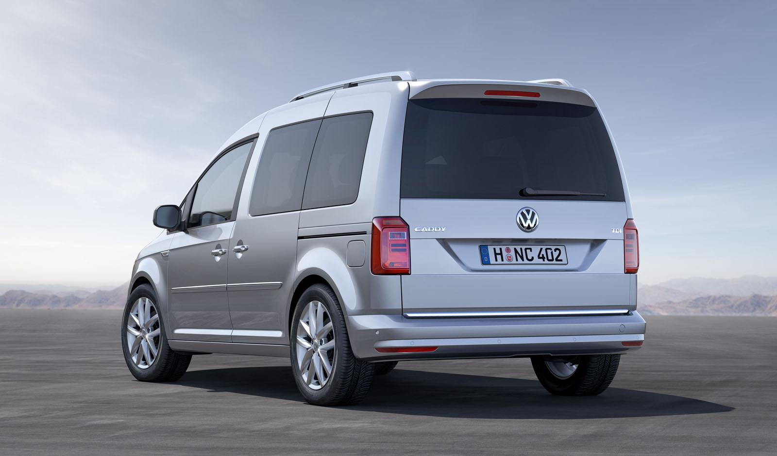 2015 Volkswagen Caddy Unveiled with New 1.0 TSI 3-Cylinder Turbo Engine - autoevolution