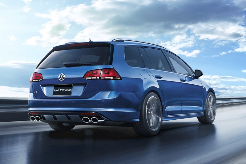 2015 volkswagen golf r variant launched in japan with 280. Black Bedroom Furniture Sets. Home Design Ideas