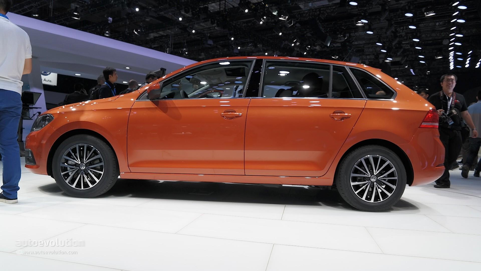 2015 Volkswagen Gran Santana Hatch Debuts in Shanghai with ...