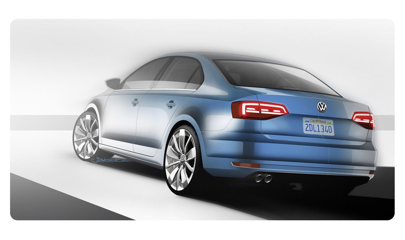 2015 Volkswagen Jetta Revealed: Cosmetic Tweaks and New TDI