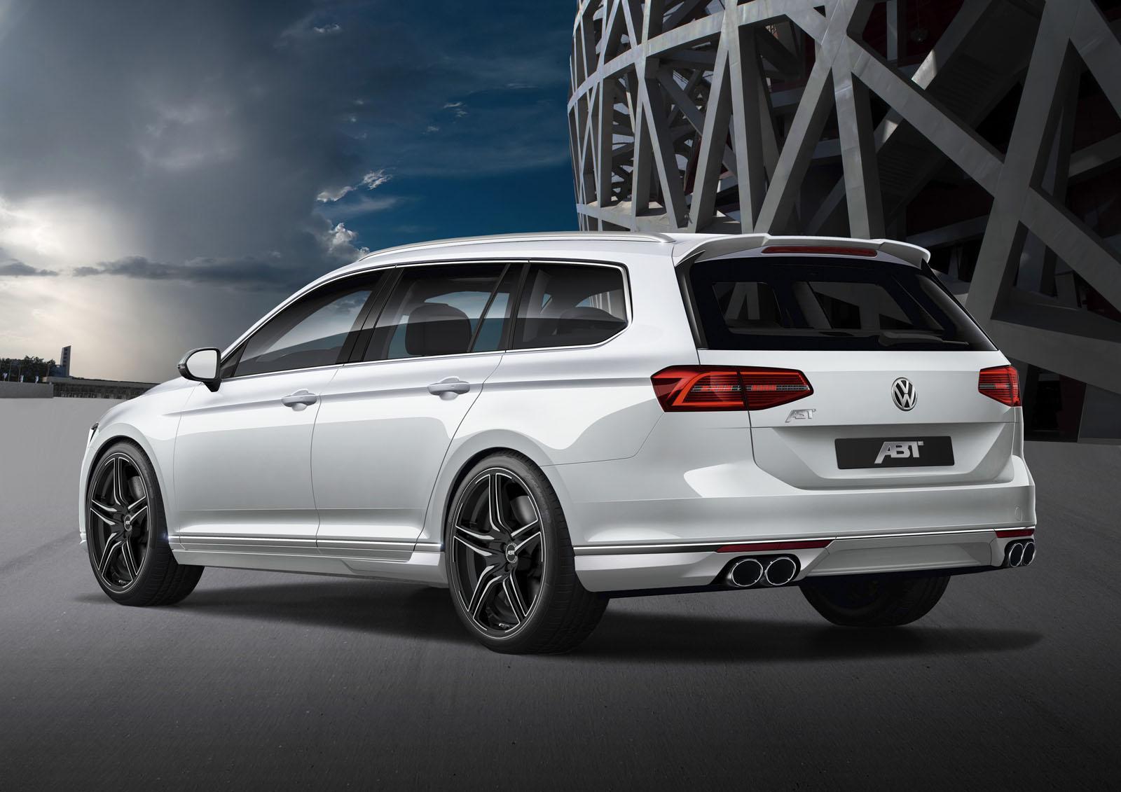 2015 Volkswagen Passat 2 0 Bitdi Tuned To 280 Hp By Abt Sportsline Autoevolution