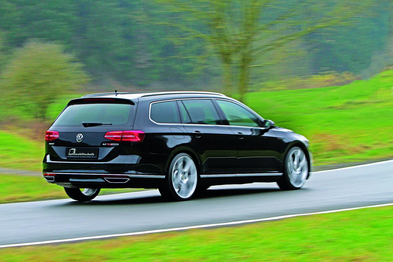 2015 Volkswagen Passat 2 0 Bitdi Tuned To 300 Hp B8 Torque Monster Autoevolution