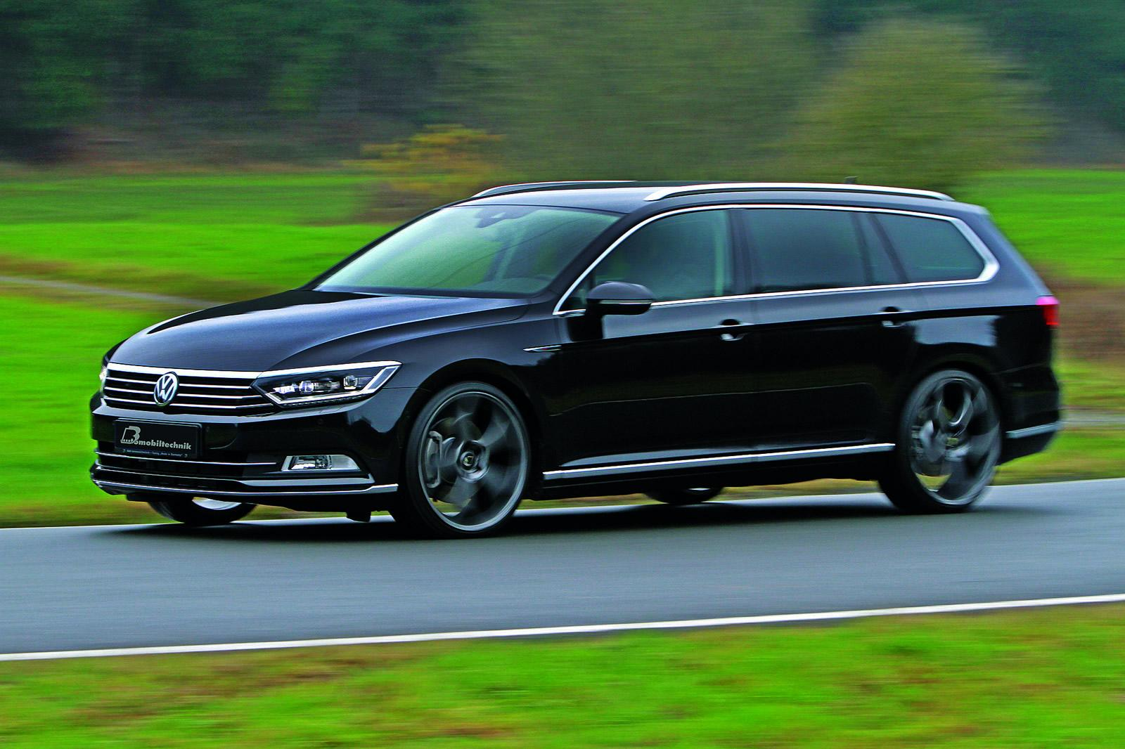 2015 Volkswagen Passat 2.0 BiTDI Tuned to 300 HP: B8 Torque Monster - autoevolution