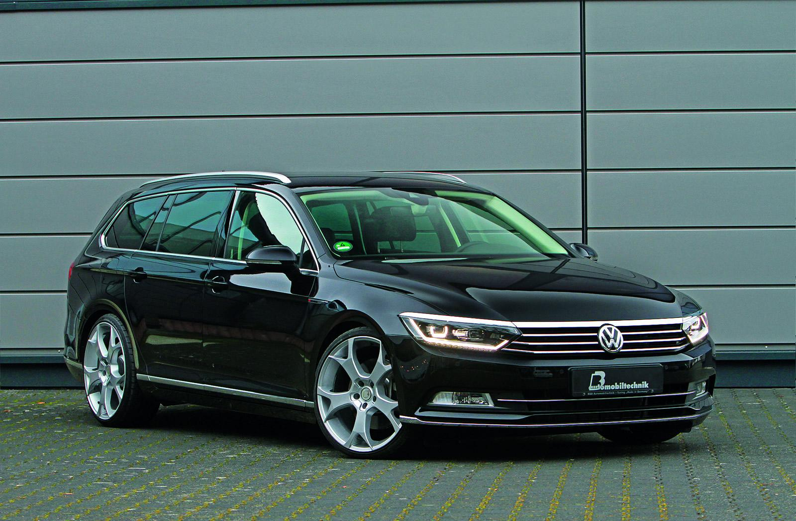 2015 volkswagen passat 2 0 bitdi tuned to 300 hp b8 torque monster autoevolution. Black Bedroom Furniture Sets. Home Design Ideas