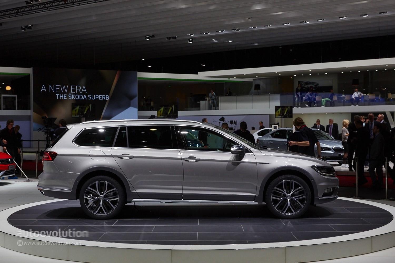 2015 Volkswagen Passat Alltrack Goes on Sale in Germany from €38,550 - autoevolution