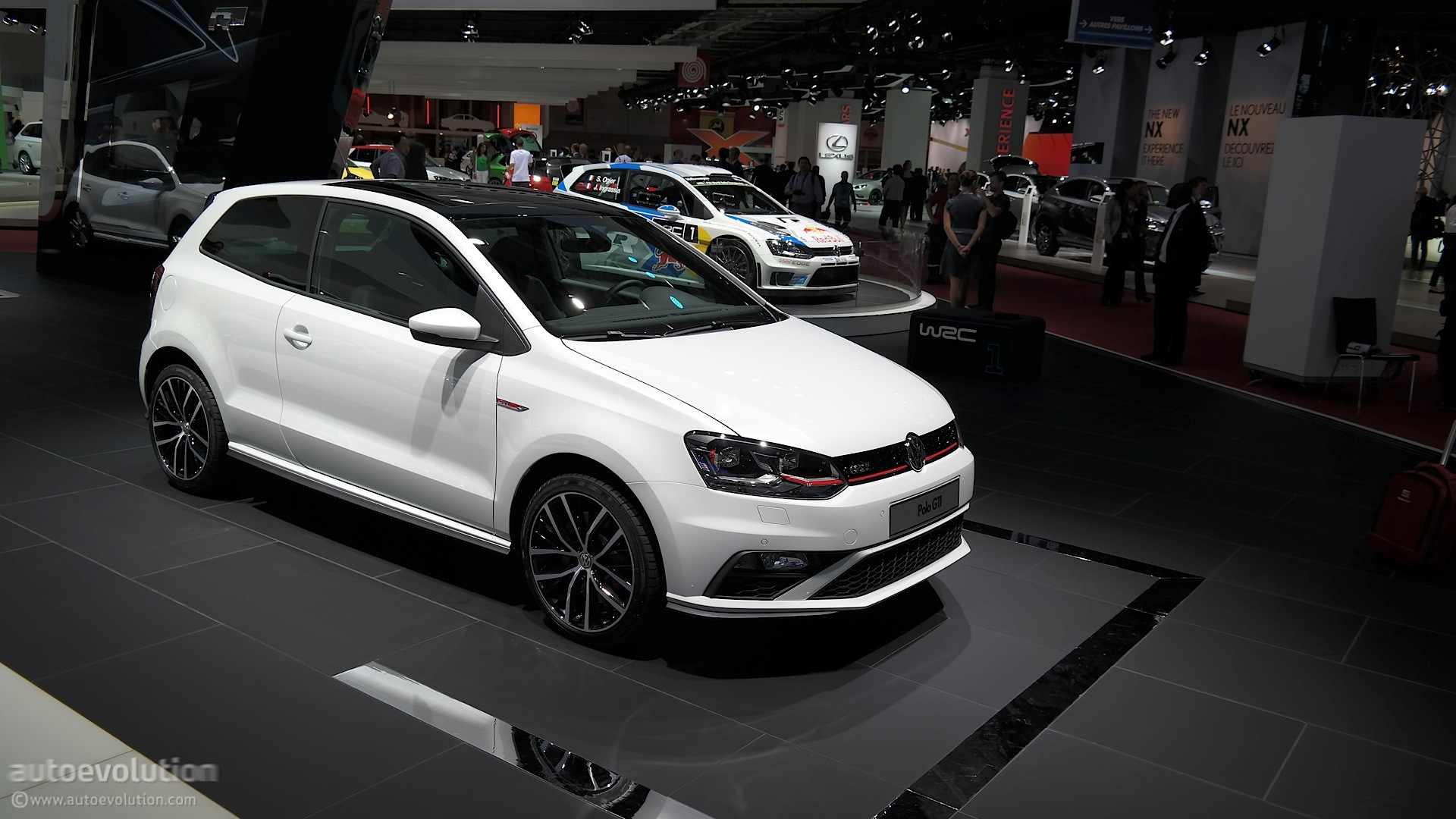 2015 Volkswagen Polo Gti Powers Up In Time For Paris Live