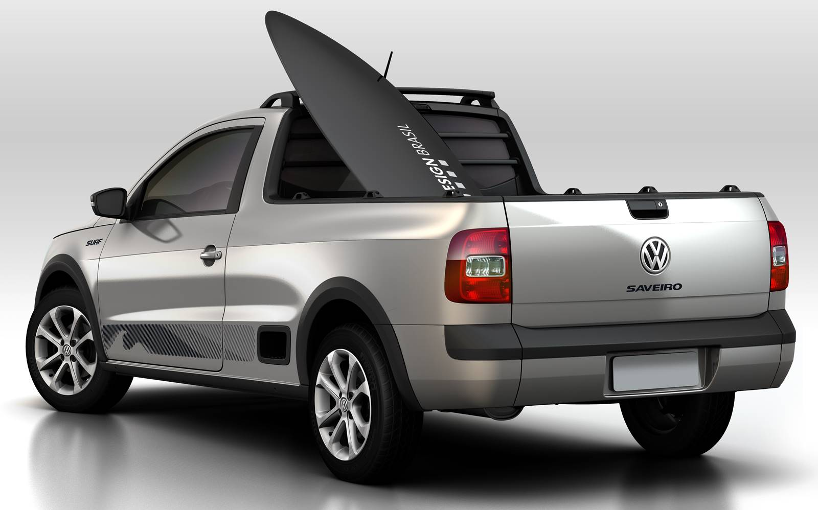 2015 volkswagen saveiro surf is a hippie 39 s dream pickup from brazil autoevolution. Black Bedroom Furniture Sets. Home Design Ideas