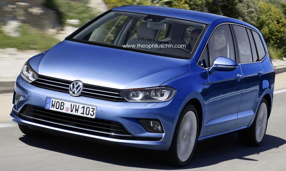 New 2015 VW Touran