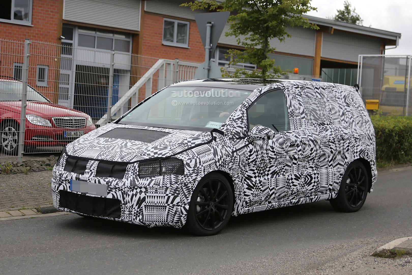 2015 - [Volkswagen] Touran - Page 3 2015-volkswagen-touran-spied-with-led-headlights_10