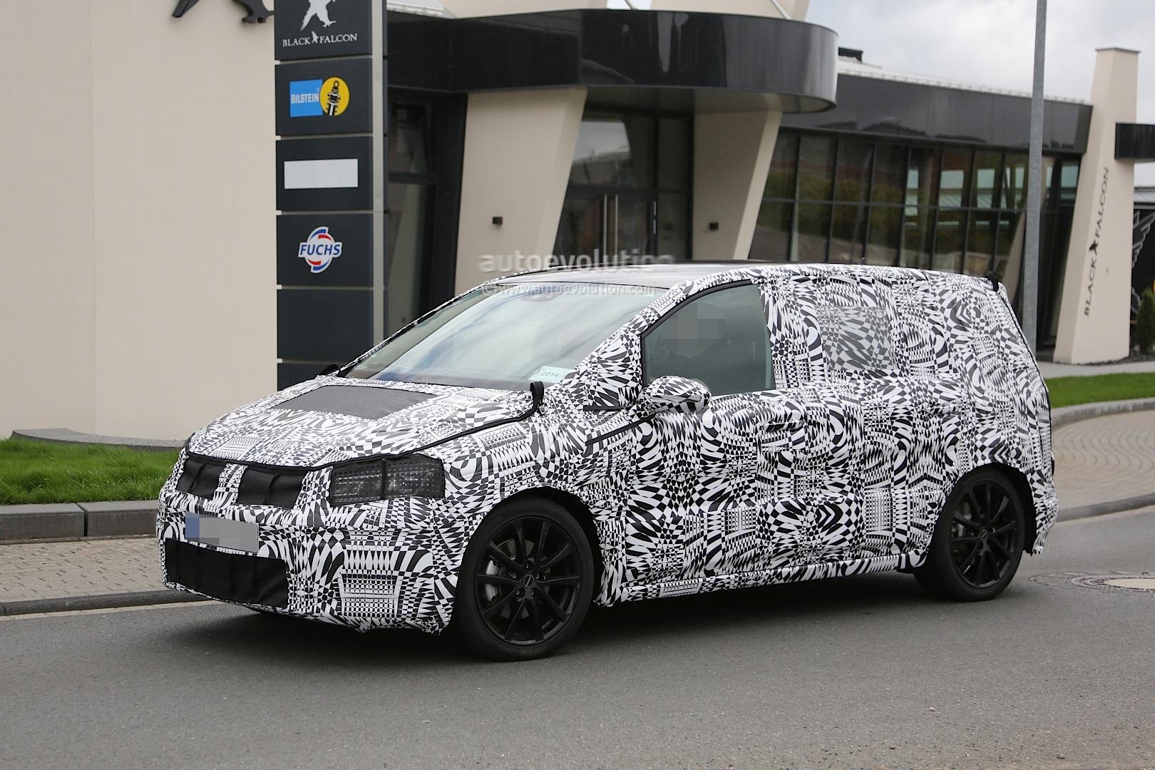 2015 - [Volkswagen] Touran - Page 3 2015-volkswagen-touran-spied-with-led-headlights_3