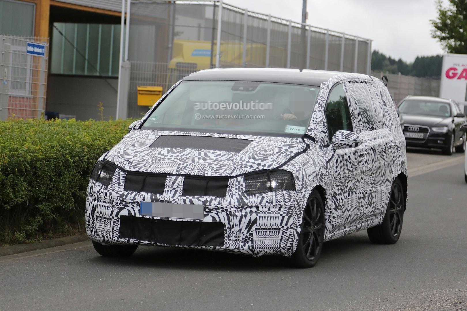 2015 - [Volkswagen] Touran - Page 3 2015-volkswagen-touran-spied-with-led-headlights_9