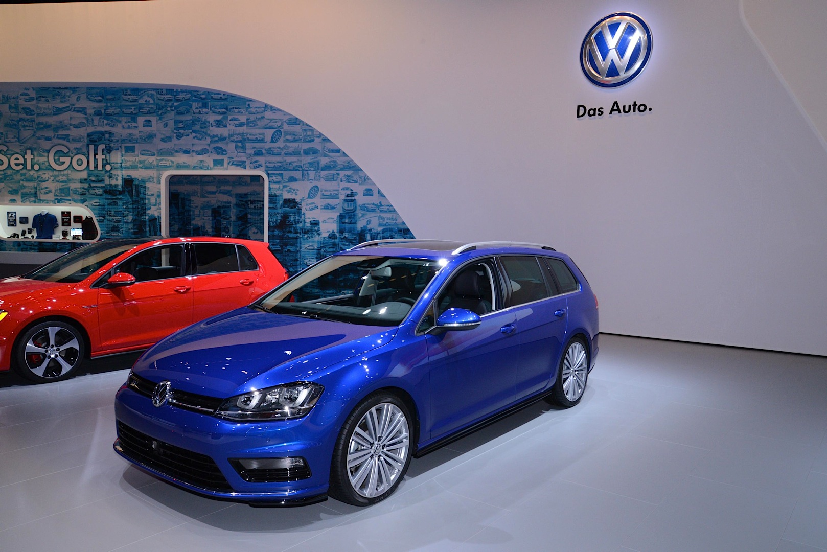2015 VW Golf SportWagen Is Better Than an SUV [Live Photos] - autoevolution