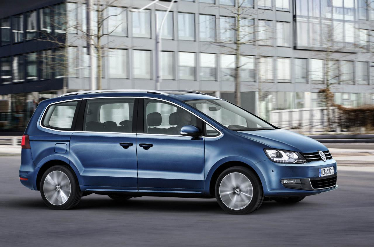 live photos 2015 vw sharan facelift gets new engines. Black Bedroom Furniture Sets. Home Design Ideas