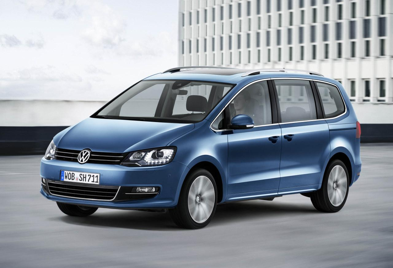 live photos 2015 vw sharan facelift gets new engines carplay and led taillights autoevolution. Black Bedroom Furniture Sets. Home Design Ideas
