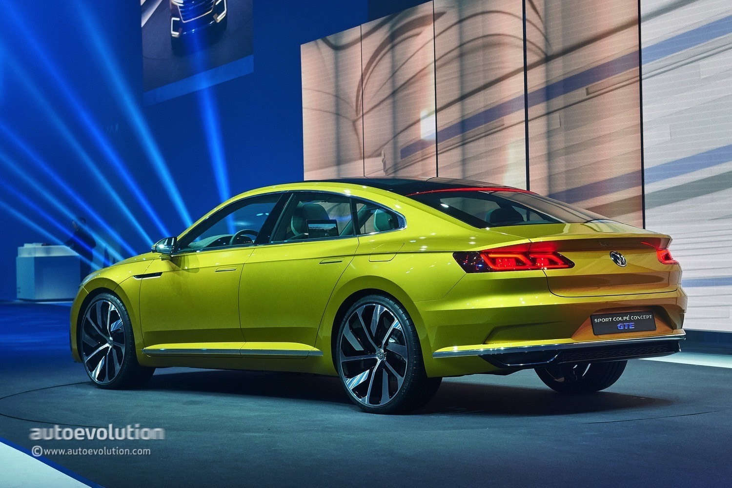coupe concept gte revealed with v6 turbo hybrid awd live photos