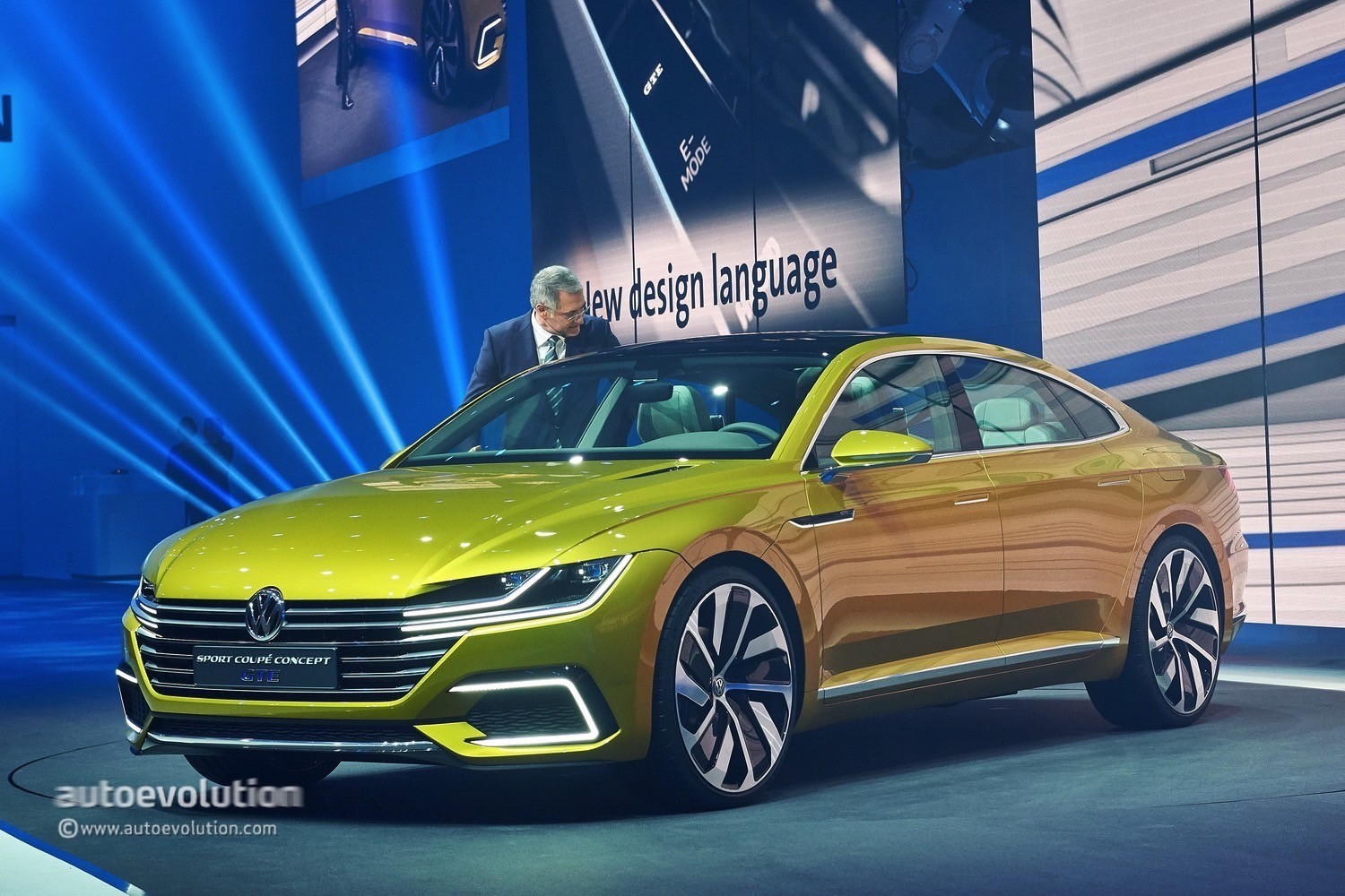 2015 Vw Sport Coupe Concept Gte Revealed With V6 Turbo