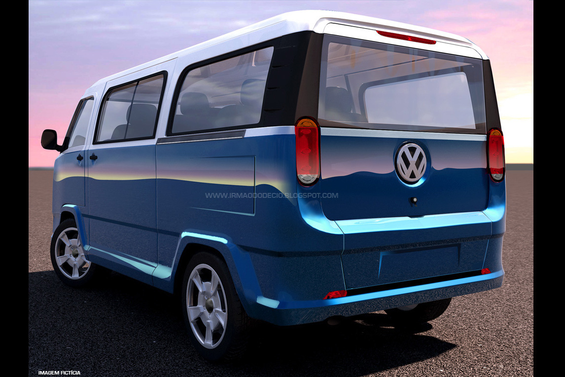 2015 VW Transporter Is A Thing Of Beauty Autoevolution - 1146x764