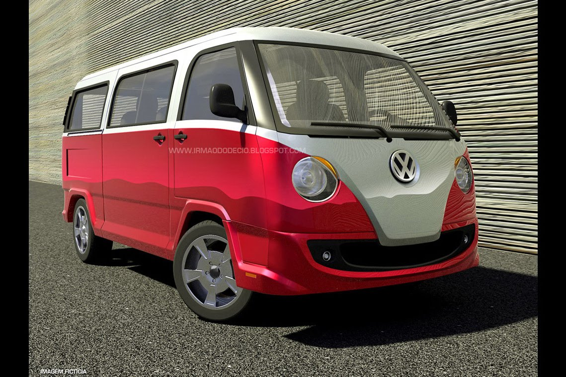 Vw Bus 2015 >> 2015 Vw Transporter Is A Thing Of Beauty Autoevolution