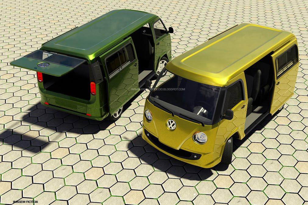 filed under: Volkswagen Transporter kombi Vw Bus concept