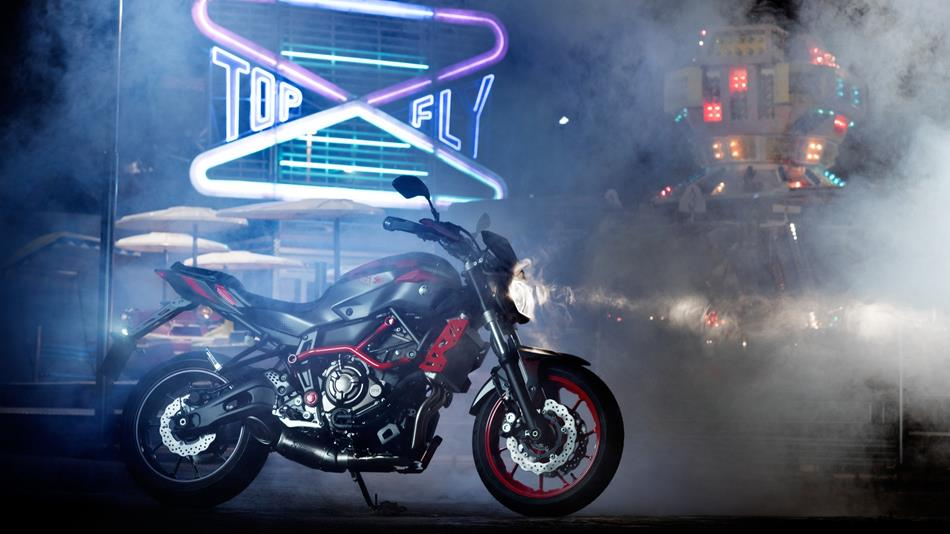 2015 Yamaha MT-07 Moto Cage Ready for Stunts, Cool Price