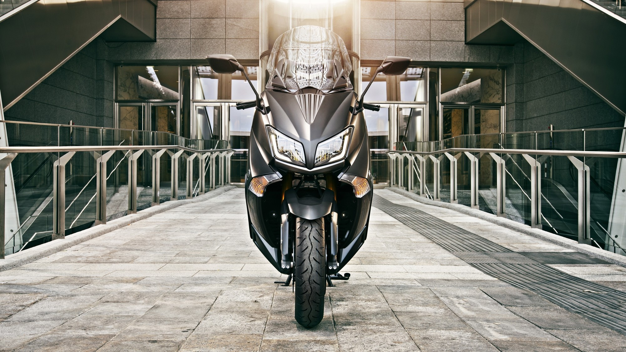 2015 Yamaha T Max Iron Max Looks Sharp And Evil