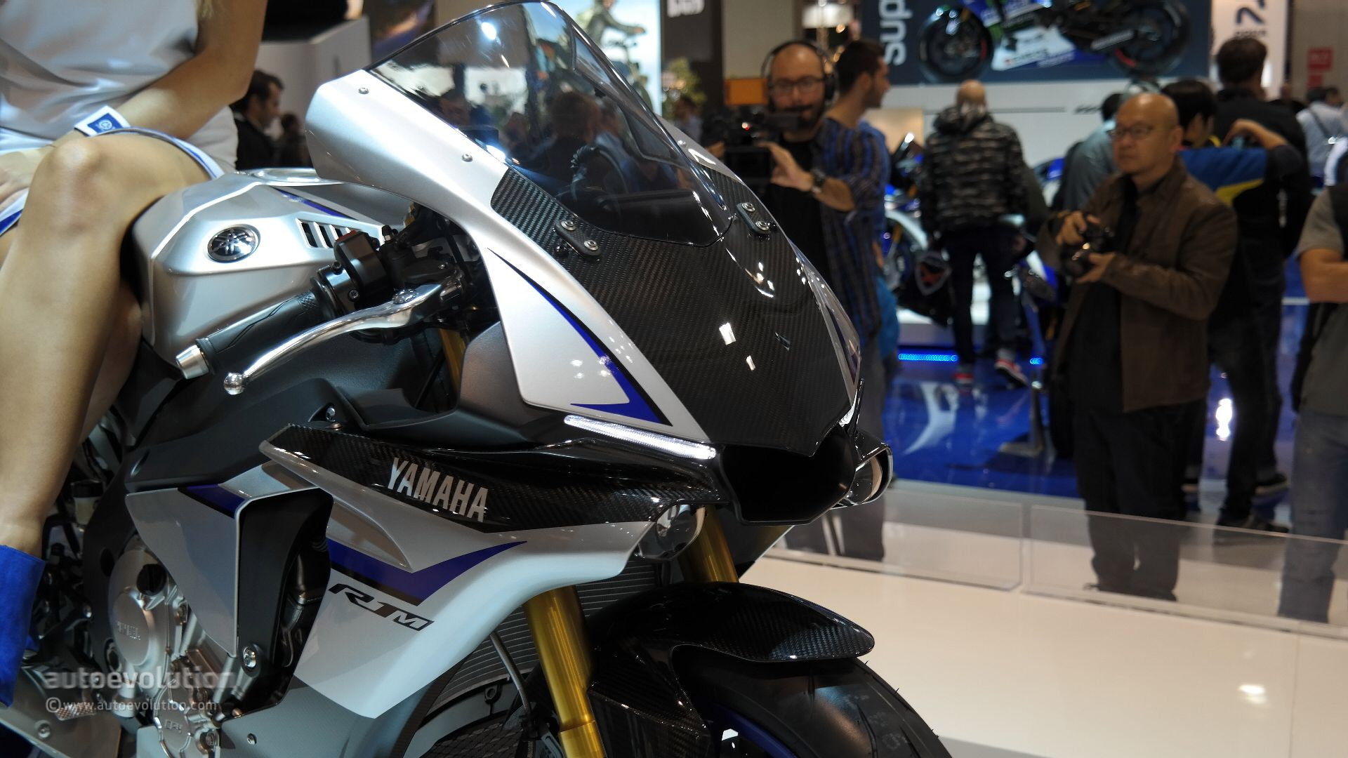 2015 Yamaha YZF R1m Live From EICMA