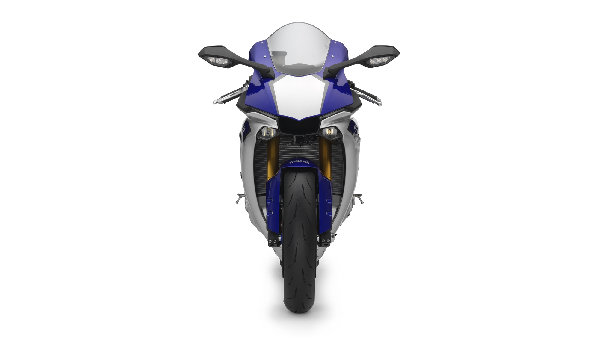 Yamaha R Front View