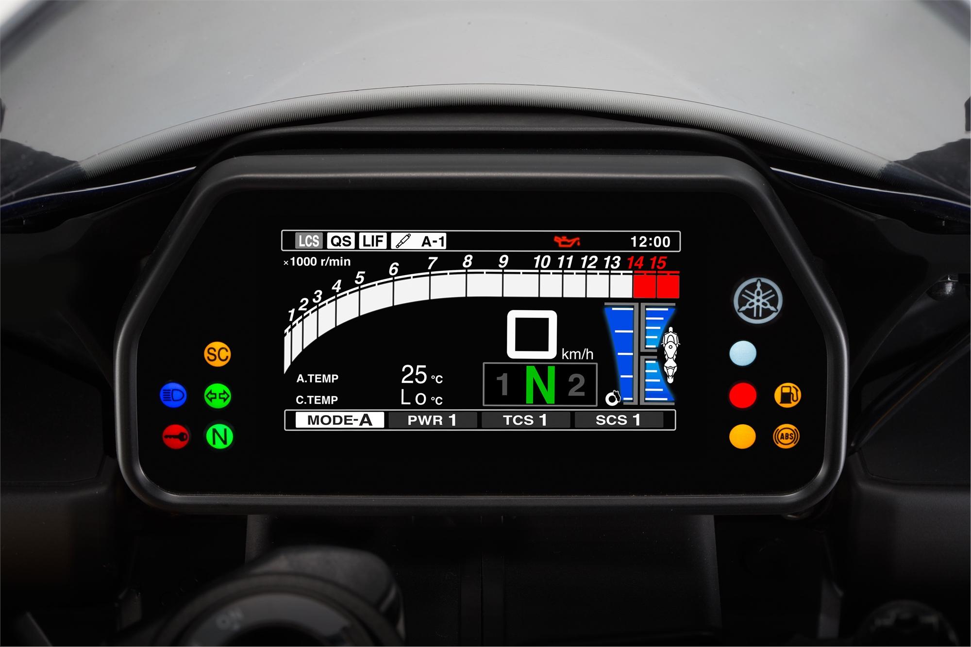 2015 Yamaha Yzf R1 Studio And Action Shots Show More