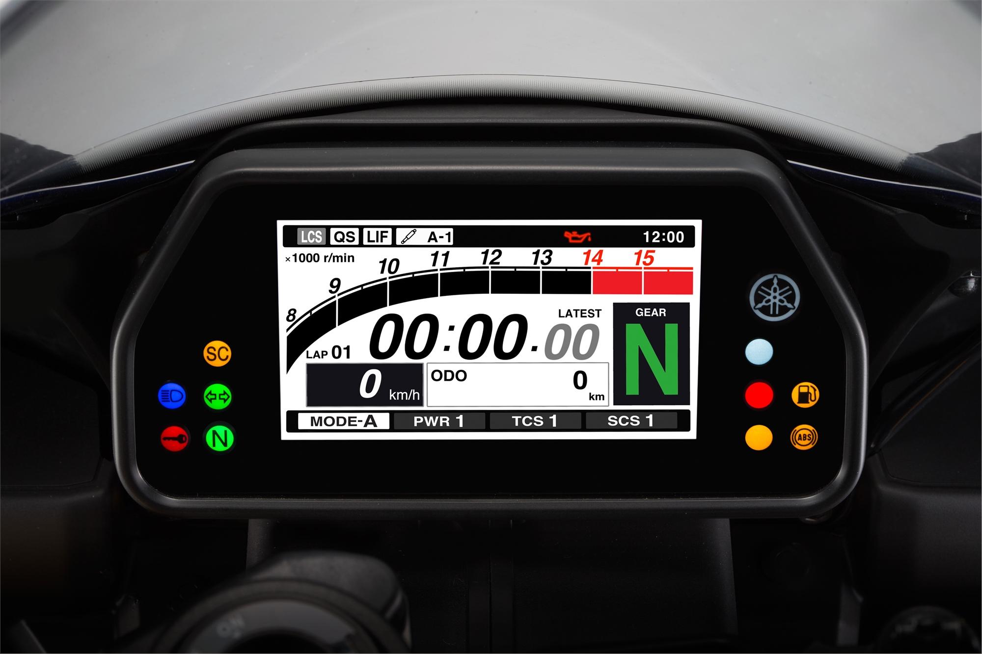 2015 Yamaha YZF-R1 Studio and Action Shots Show More ...