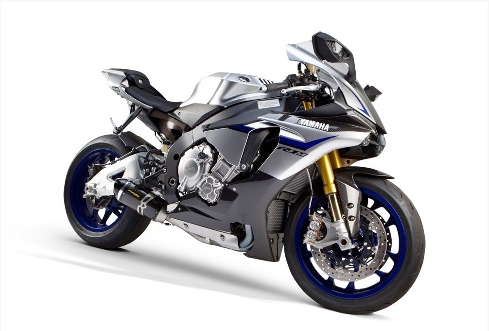 2015 yamaha yzf r1m is lighter and more powerful with a tbr carbon