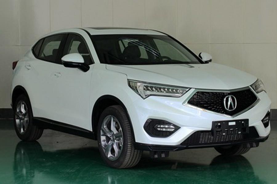 2016 Acura CDX Leaks Ahead of Beijing Auto Show ...