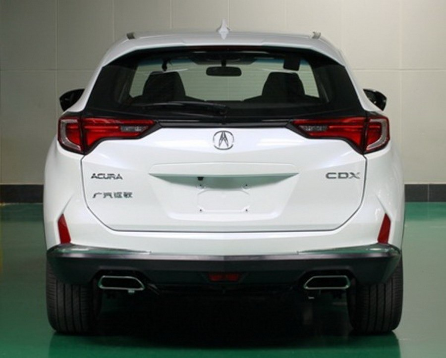 2016 Acura CDX Leaks Ahead of Beijing Auto Show ...