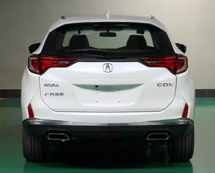 2016 acura cdx leaks ahead of beijing auto show autoevolution