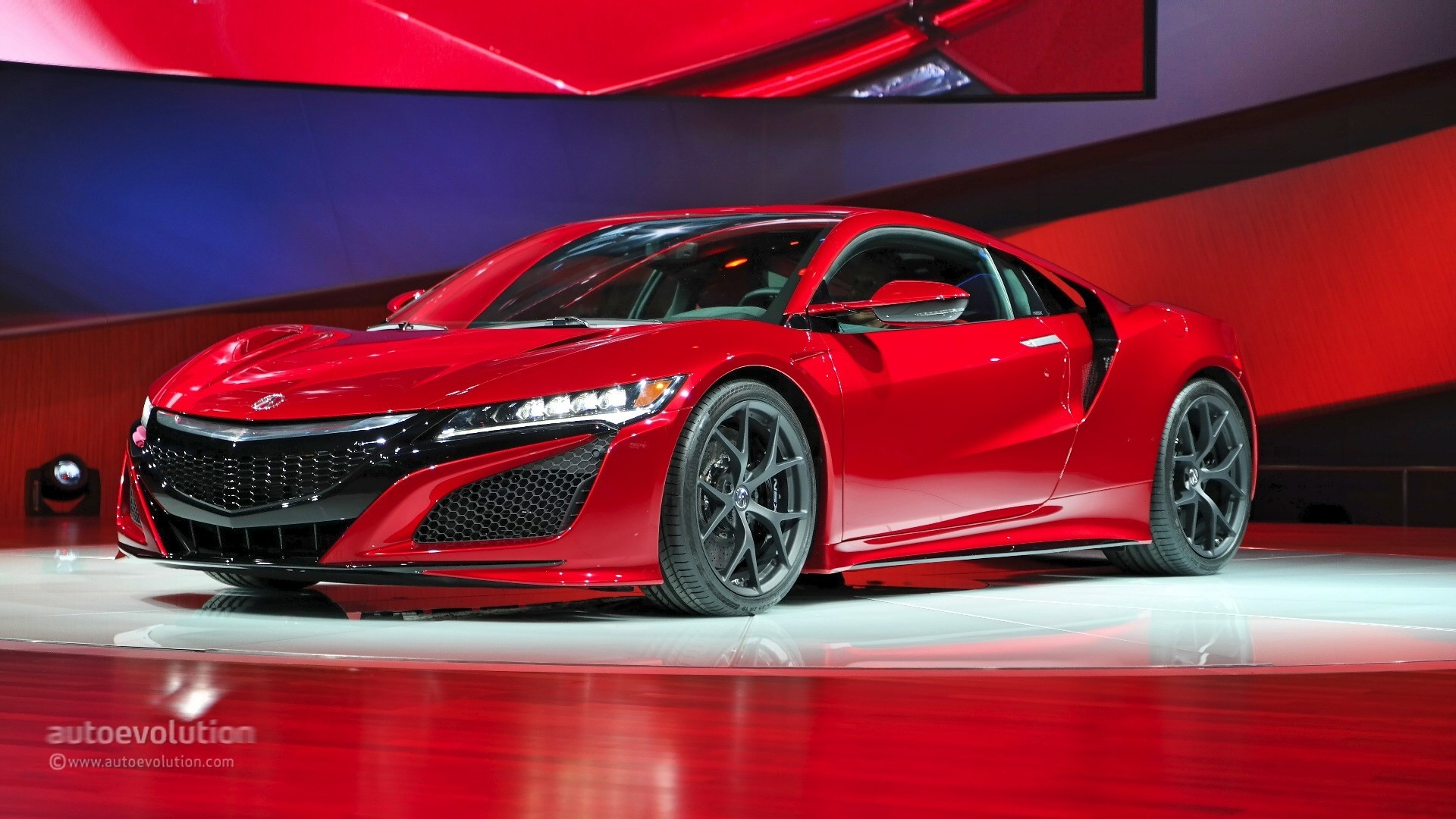 2016 Acura NSX live photos @ 2015 Detroit Auto Show - photo gallery
