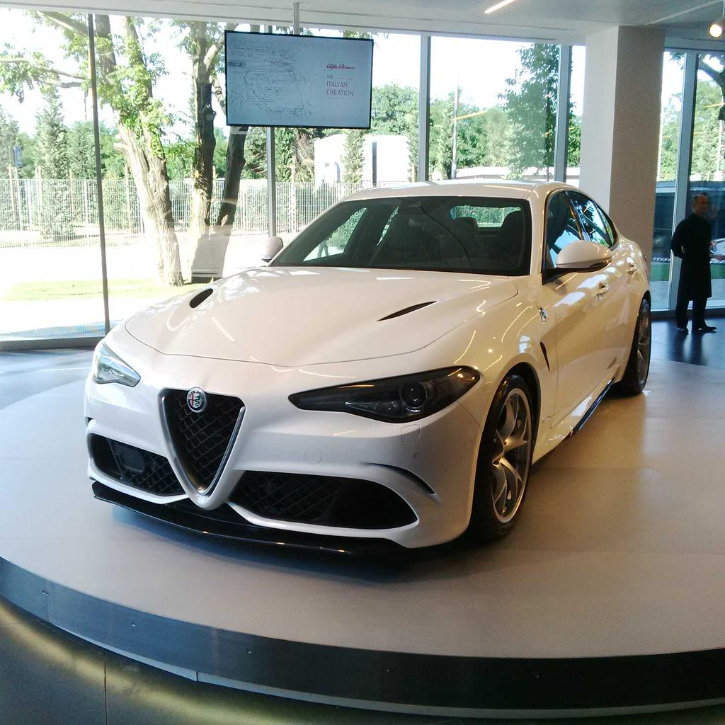 UPDATE: 2016 Alfa Romeo Giulia Development Postponed Due to Crash ...