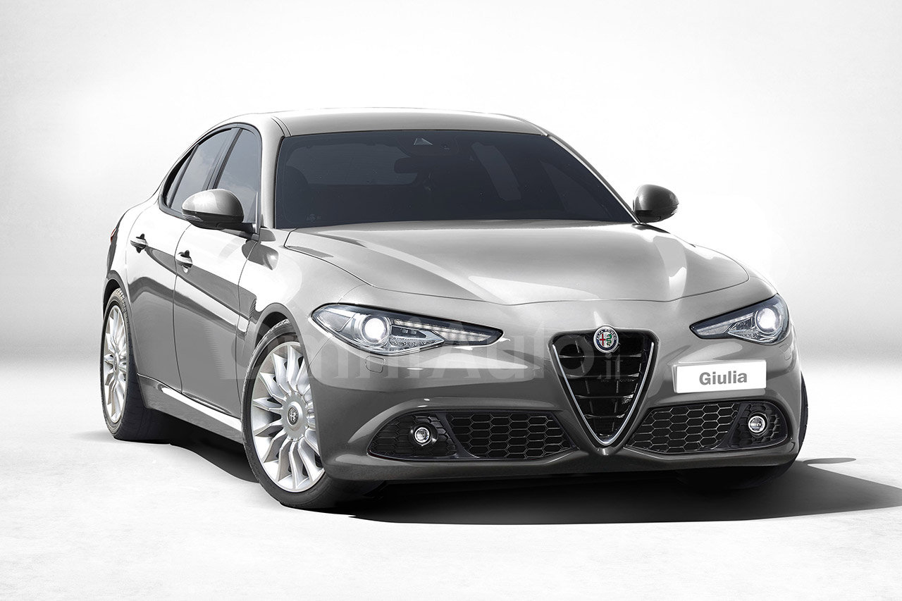 2016 alfa romeo giulia imagined as an entry level model. Black Bedroom Furniture Sets. Home Design Ideas