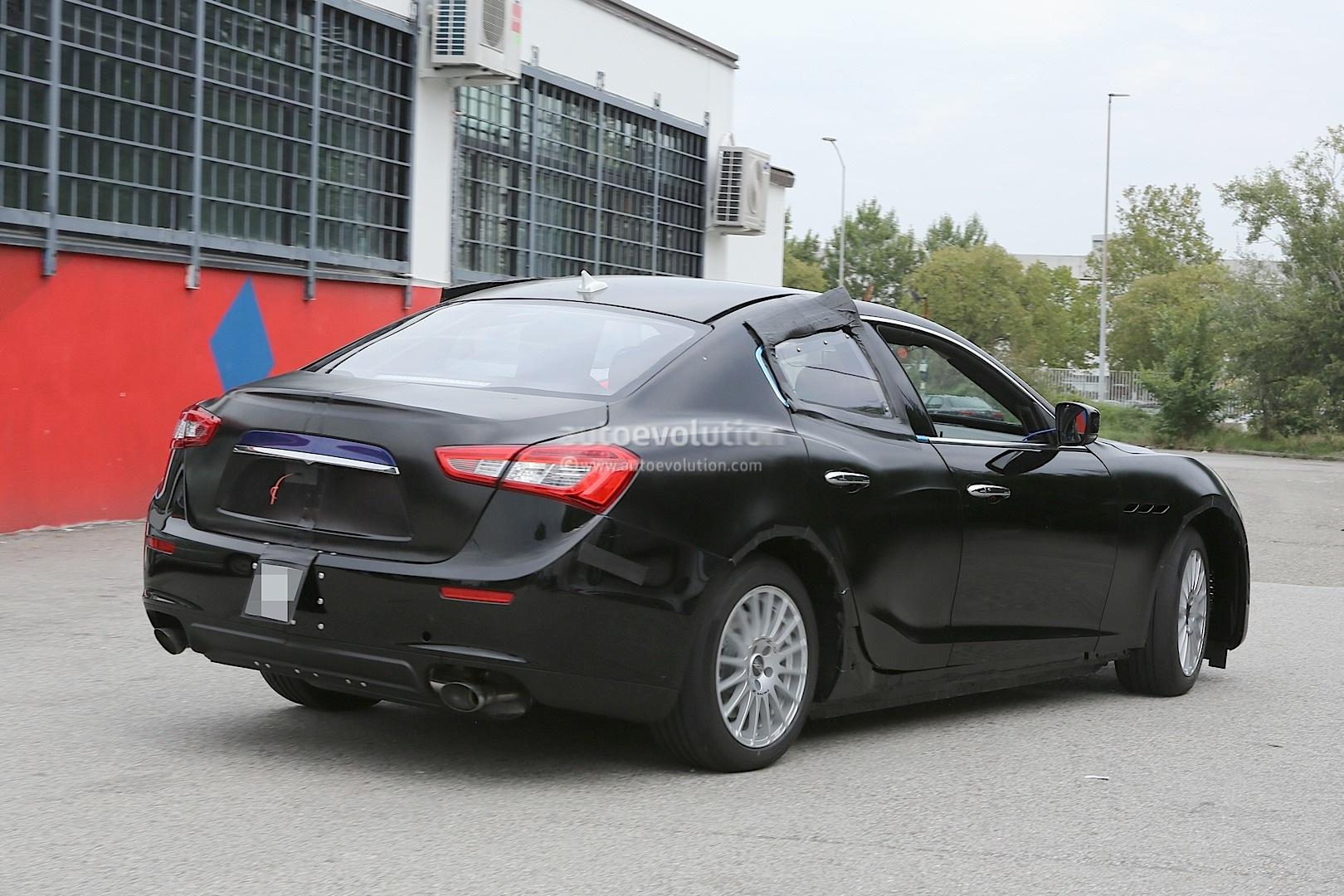 2016 Maserati Ghibli Spyshots
