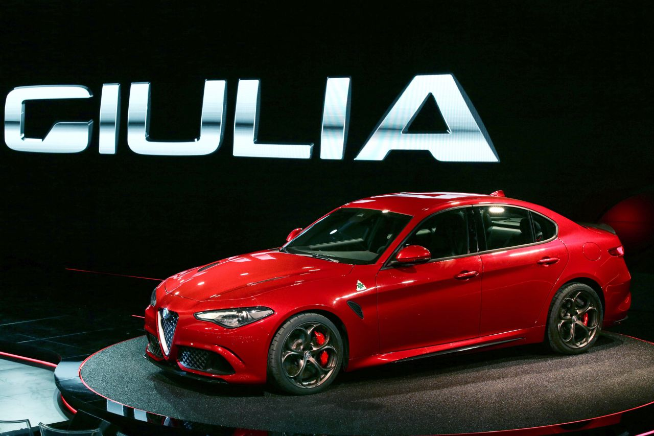 2016 alfa romeo giulia tipo 952 quadrifoglio verde is. Black Bedroom Furniture Sets. Home Design Ideas