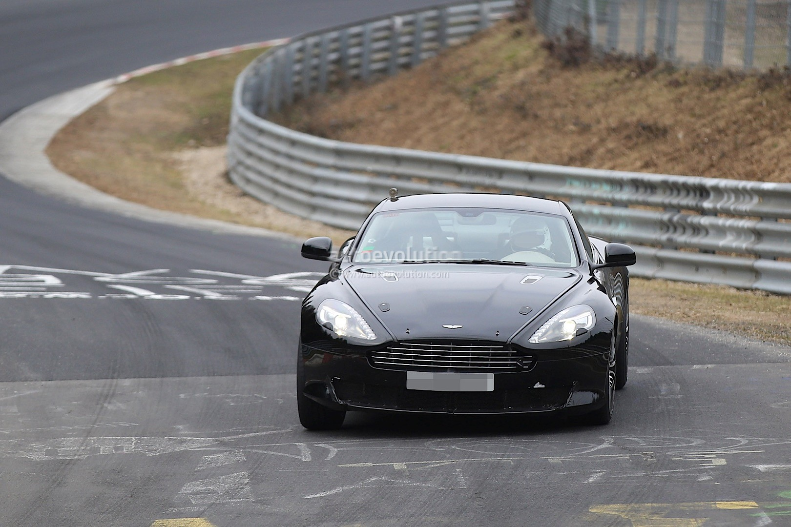 2016 Aston Martin DB9 Spied Its Powered By an Atmospheric V12