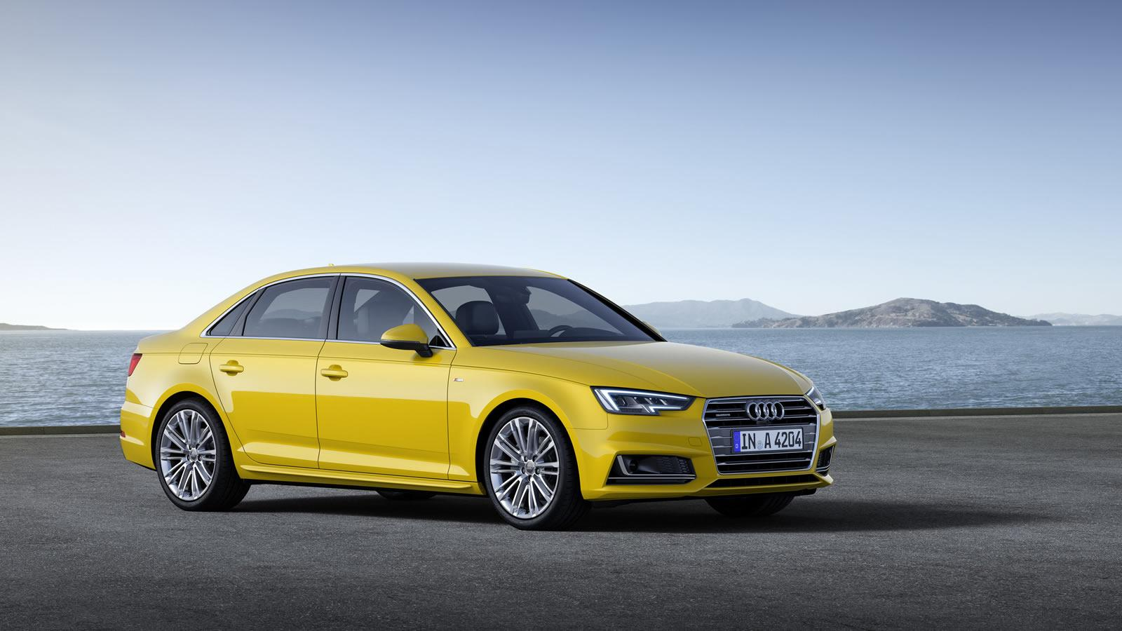 2016 audi a4 sedan revealed with 120 kg weight loss and new engines autoevolution. Black Bedroom Furniture Sets. Home Design Ideas