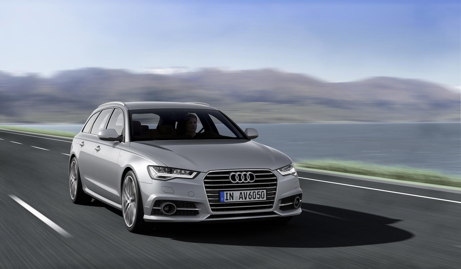 Новый универсал Audi A6 Avant для США