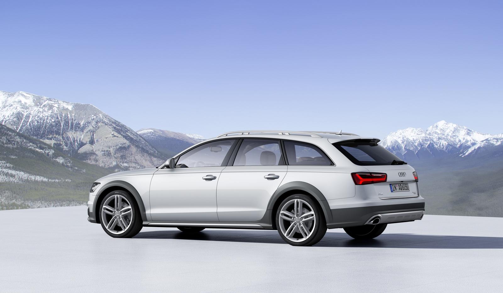 Фото | Белая Audi A6 allroad