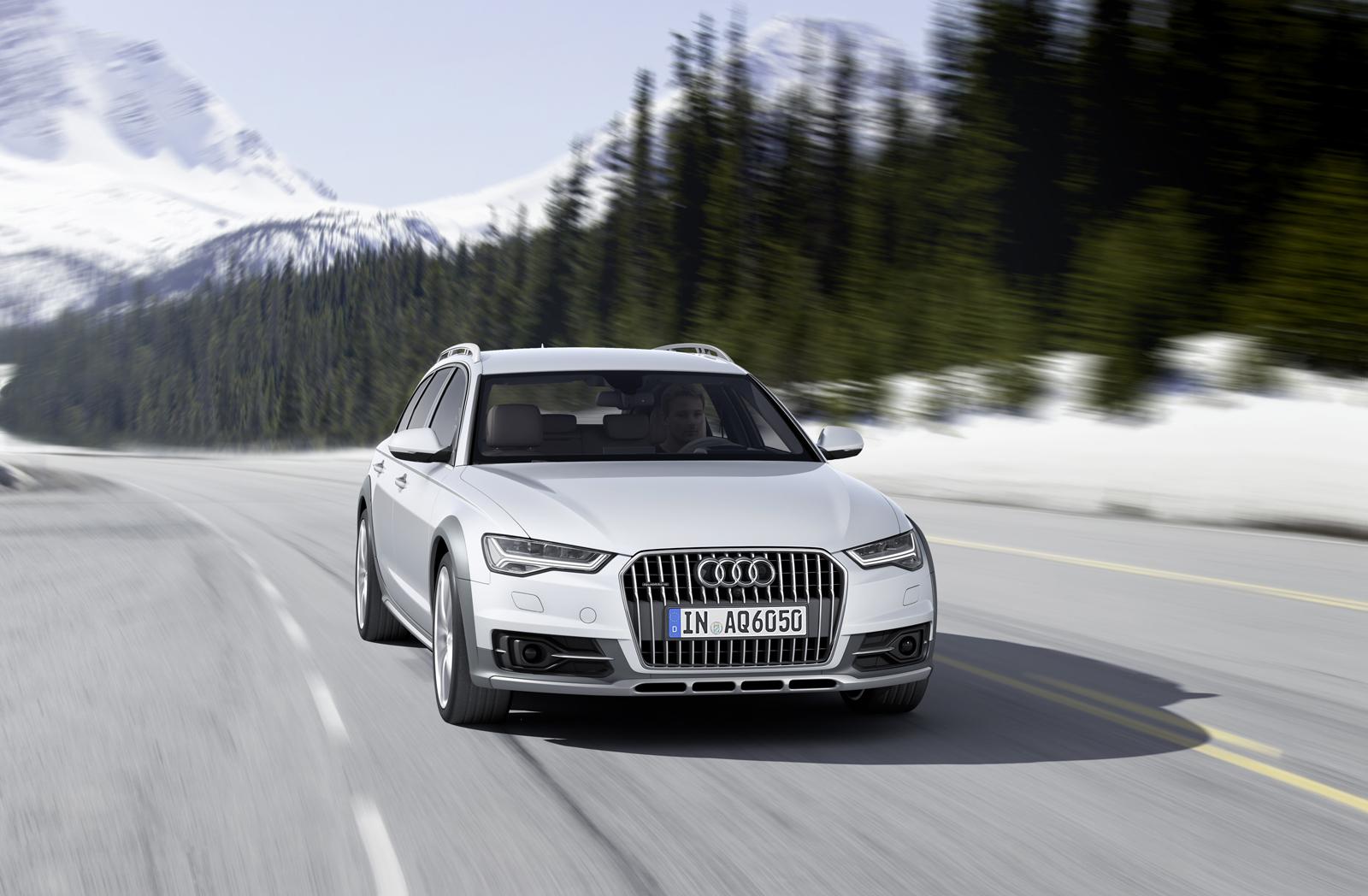 2016 Audi A6 allroad для США