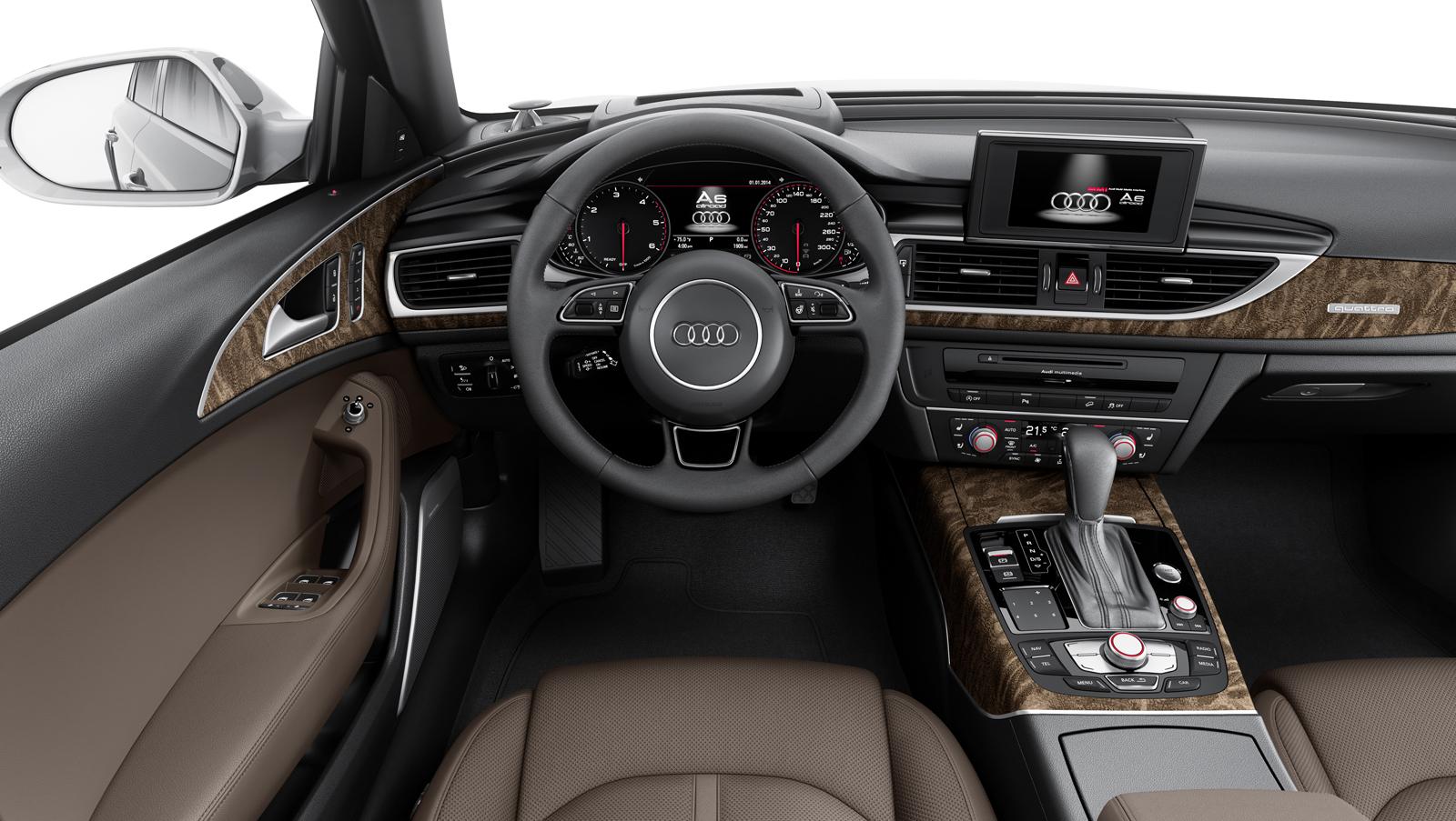 Фото салона Audi A6 allroad 2016