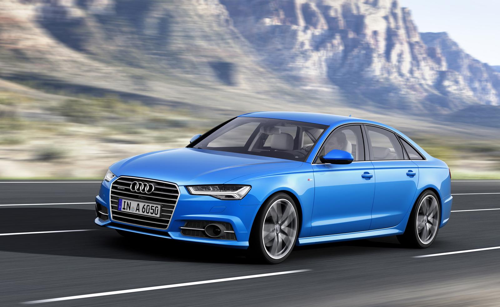 Рестайлинг Audi A6 2016 для рынка США