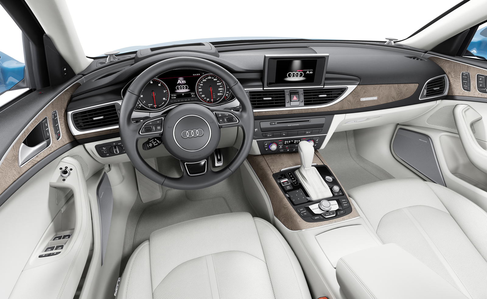 Фото салона Audi A6 для рынка США
