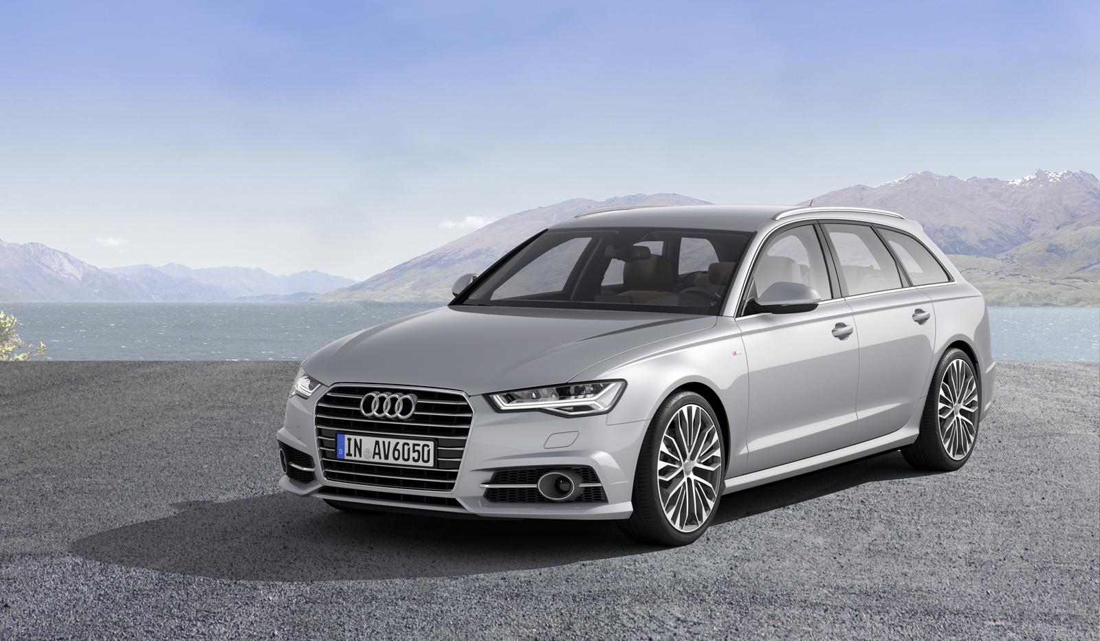 Универсал Audi A6 Avant рестайлинг